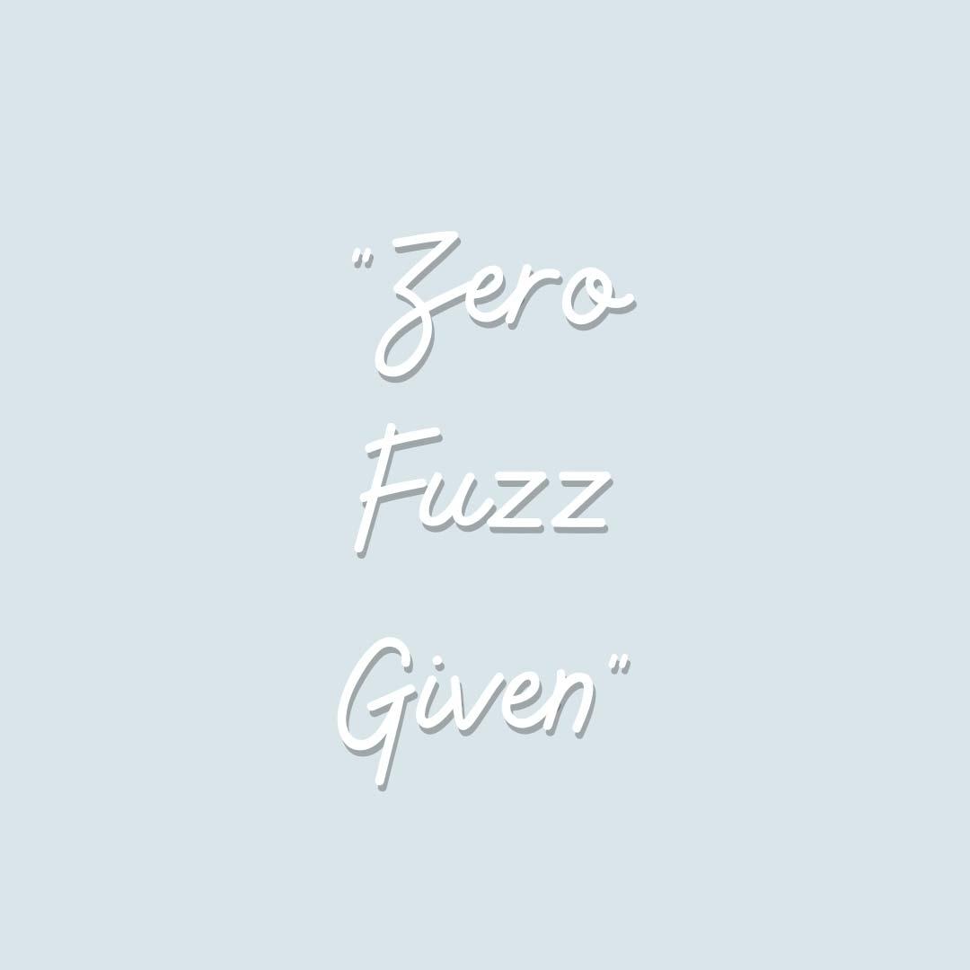 Dermaplaning - Zero Fuzz Given